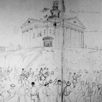 Entering Vicksburg, July 4th, 1863